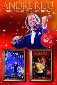 Cover André Rieu And His Johann Strauss Orchestra - Christmas Around The World / The Christmas I Love [DVD]